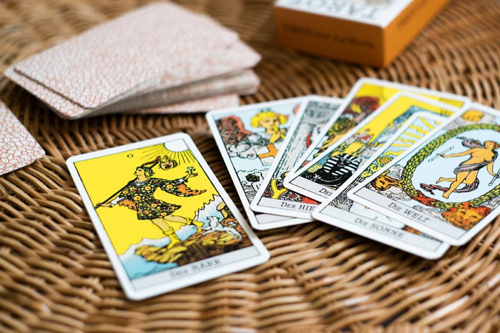 Tarot Karten aus der grossen Arkana