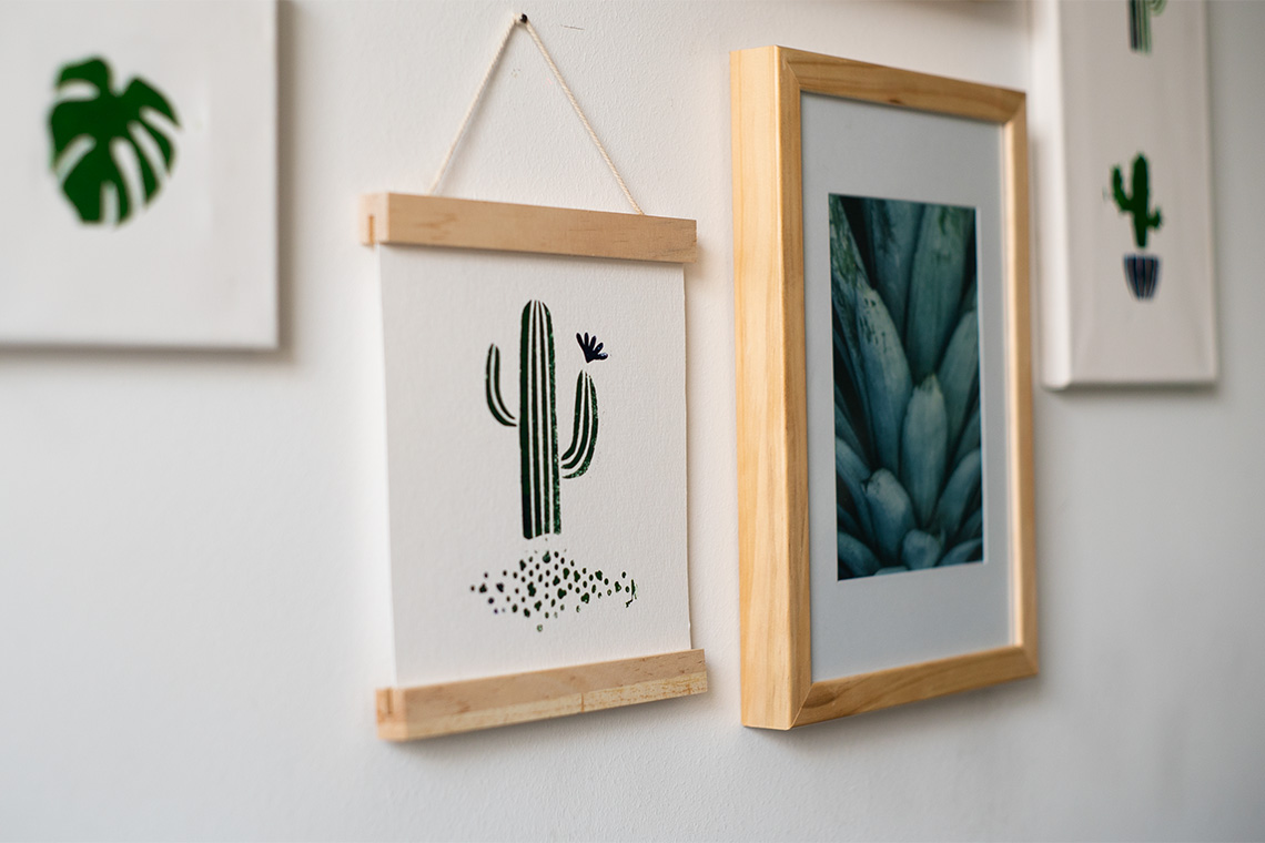 Wanddeko_Kaktus_Nahaufnahme