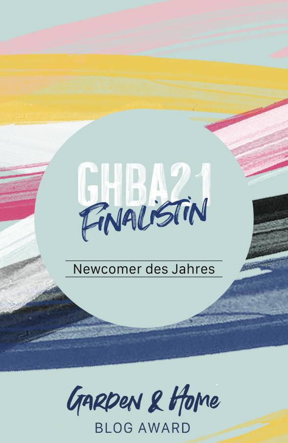 """GHBA 21 Finalistin """"Newcomer des Jahres"""""""